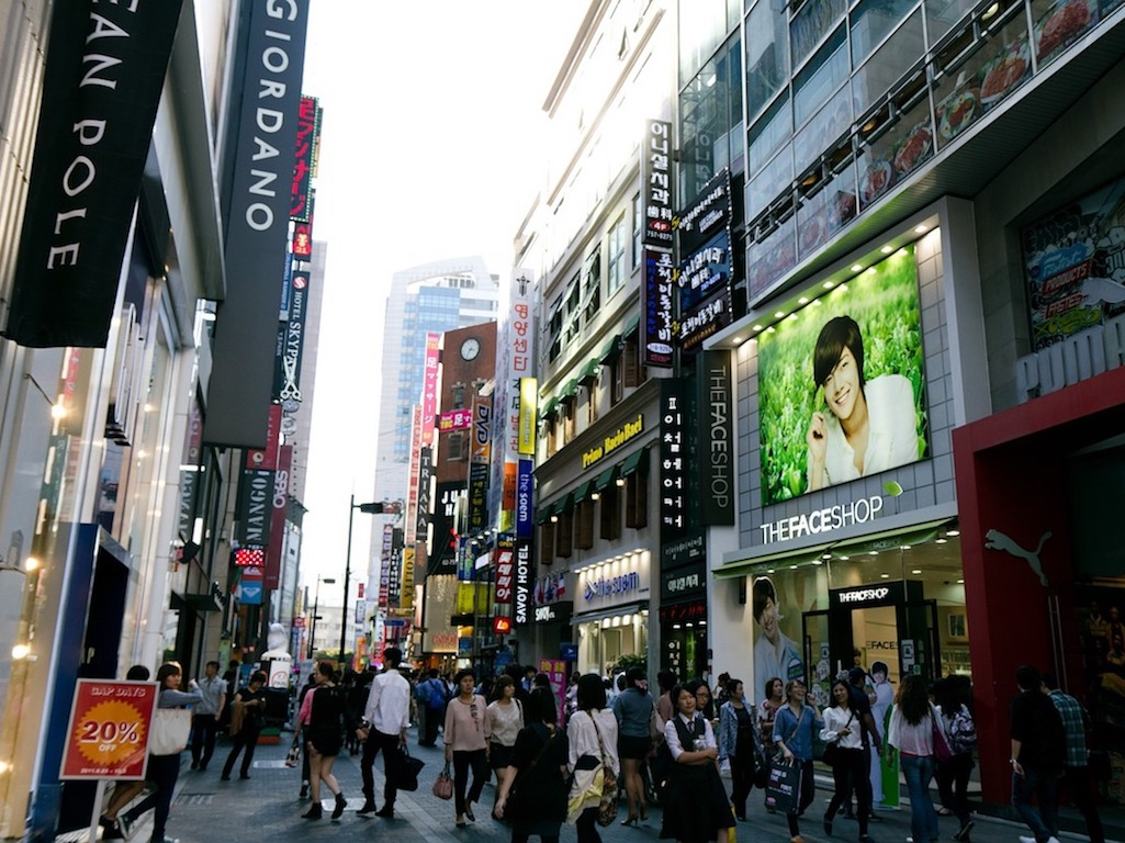 Traveling and Shopping in Seoul City Day Trip 3